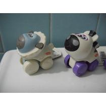 2 Carritos Playskool Animalitos Sobre Ruedas Borrego Cebra