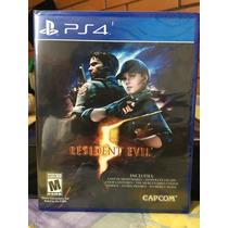 Resident Evil 5 Hd Para Ps4 Nuevo Y Sellado Entregas D.f.