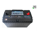 Bateria Solar 120ah 12v Ms-solar Lth Cale Panel Deep Cycle
