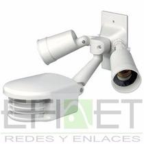Pir Al Aire Libre Con Sensor Leviton Rs110-1fw 500w Efinet
