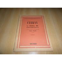 Libro De Partituras La Escuela Del Concertista Czerny Piano
