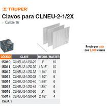 Clavos Para Clavadora Neumatica Clneu-2-1/2x 25mm