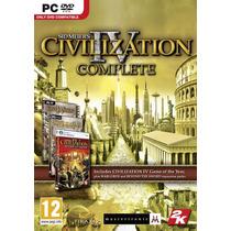 Civilization Iv Completa (pc Dvd)