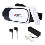 Lentes Realidad Virtual 3d 360 + Control + Pb + Aud Vr Box 2