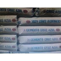 Cemento Cruz Azul 50kg Gris Los Q Ocupen Mi Compa.