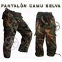 Pantalon Tactico Comando Militar Camuflaje Gotcha Niño Bebe