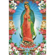 Virgen De Guadalupe En Azulejo 25x35