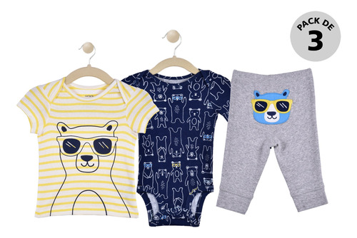 Set De 3 Piezas Carters Boys 16628510