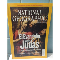 Revista National Geographic Español El Evangelio Segun Judas