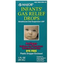 Los Bebés Gas Relief Simeticona 20 Mg / 0,3 Ml Gotas Coloran