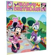 Escena Disney Minnie Mouse Setter Partido Decoración Del Acc