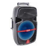 Bafle Bocina Amplificado De 12 Ksr   Recargable Msa-7912