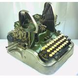 Antigua Máquina De Escribir Oliver L-10v2 Colección Vintage
