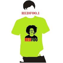 Playera Dj Redfoo Lmfao, Hombre Niño Dama Promo 4 X 5