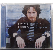 Tommy Torres Tarde O Temprano 1a Ed 2008 C/booklet Bvf