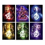 Avengers 6 Posters Envio Gratis Endgame Los Vengadores