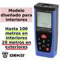 100m Telemetro Medidor Laser Distancia Distanciometro Metros