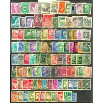 0218 Alemania Lotecito 100 Sellos Usados N H Modernos 04