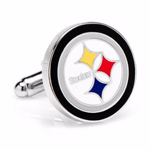 Mancuernillas Football Americano Steelers Pittsburgh Nfl
