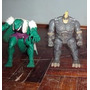 Set De Figuras Spiderman Rhino Y Lagarto Transformer.
