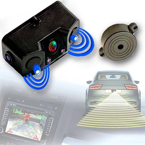 Camara De Reversa + Sensor Estacionamiento Y Visión Nocturna