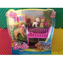 De Barbie Una Aventura De Perritos,los Perritos A Dormir.