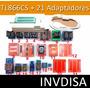 Programador Universal Atmel Gal Pic Tl866cs + 21 Adaptadores
