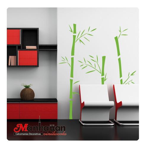 Vinilo Decorativo Bambu Vinil Pared En Venta En Bosques Del