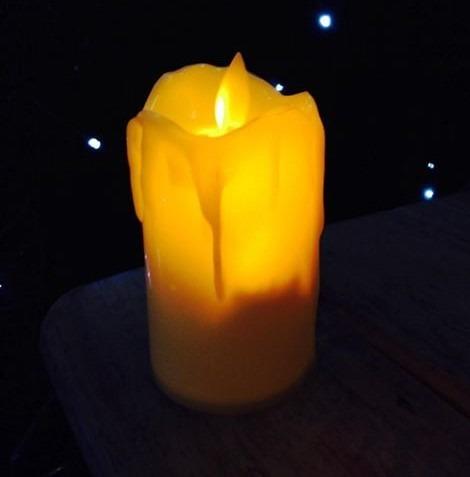 0cb37071944 12 Velas Cirios Led Con Flama De Movimiento Para Fiestas en venta en ...
