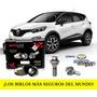 Birlos Seguridad Galaxylock Renault Captur Intens Garantia!!