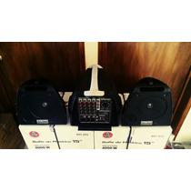 Sistema De Sonido Portatil Dj Tech No Peavey Hk Jbl