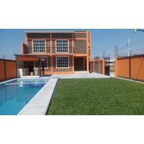 Casa Nueva Alberca Chapoteadero Palapa Jardin