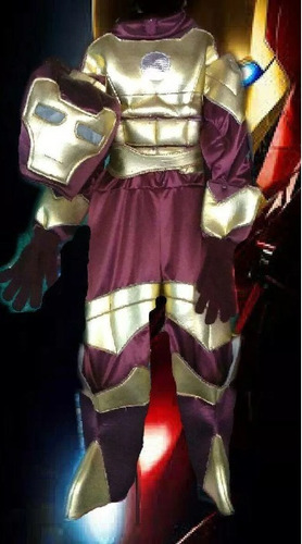 1f31d46fda062 Disfraz De Iron Man O El Hombre De Acero Niños Envío Gratis