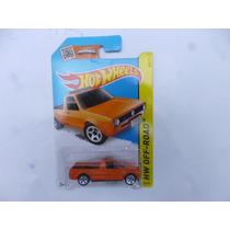 Vw Volkswagen Caddy Naranja Hotwheels 1/64 Nuevo