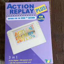 Actión Replay 4m Plus ( Nuevo)sega Saturn+mod Copias Seguri