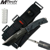 Cuchillo Tactico De Asalto Mtech Usa Heavyweight C/afilador
