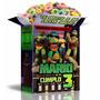 Tortugas Ninja Kit Imprimible Tortugas 100% Editable 2016