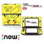 Ci-yu-online Vinyl Skin [new 3ds Xl] - Pokemon #1 Pikachu Y