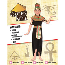 Queen Of The Costume Nilo - Niñas Pequeño Histórico