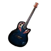 Guitarra Electro Acustica Color Azul