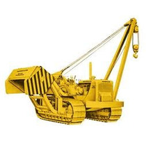 Caterpillar 572 C Tiende Tubos Escala 1:50