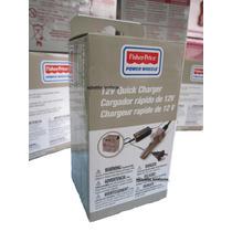 Cargador De Bateria Fisher Price 12 Volts Para Power Wheells