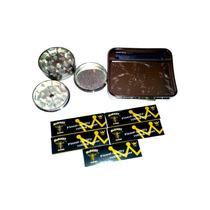 Paquete Liar Grinder Metal + Roladora Automática + 5carteras