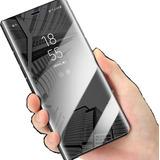 Funda Flip Espejo Huawei Honor 9x / Y9s + Cristal
