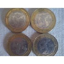 Remate Monedas Conmemorativas 20 Pesos Fuego Nuevo