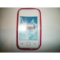 Protector Tpu Samsung Galaxy Young S5360 Color Rosa!