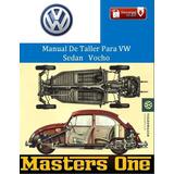 Manual De Taller Para Vw Sedan Vocho 1860 - 2003