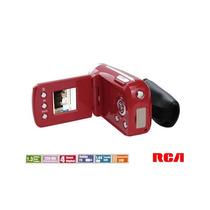 Camara De Video Rca Hd Funciones Web Cam Ez1320 Roja