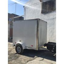 Remolque Cerrado De Aluminio Cuatrimotos Borda Mex