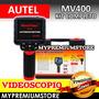 Videoscopio Autel Maxivideo Mv400 Sonda 5.5mm Automotriz
